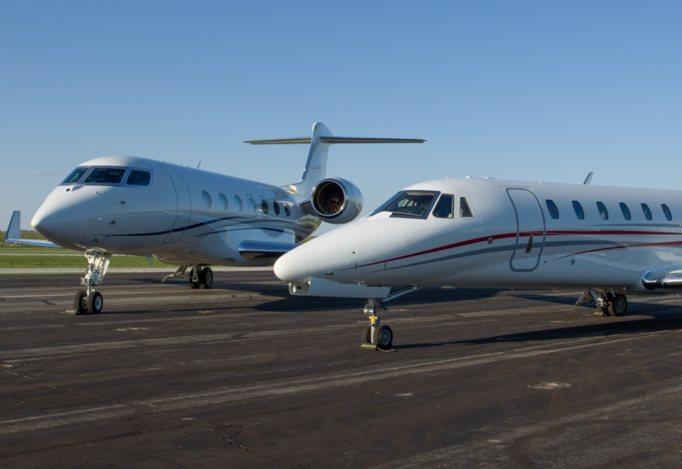 American Air Charter G500 Spirit of St. Louis Airport